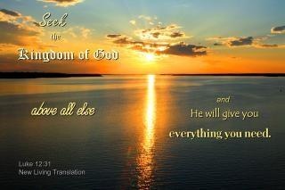 Chercher d'abord le royaume de dieu
