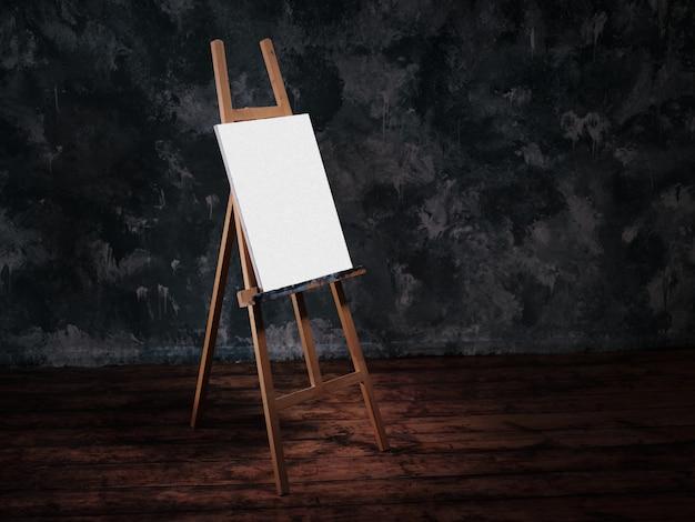 Chevalet pour peindre une image