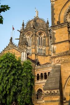 Chhatrapati shivaji terminus à mumbai, en inde.