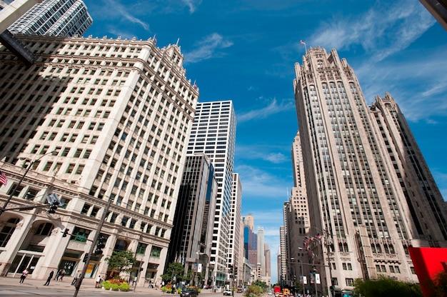 Chicago, michigan avenue