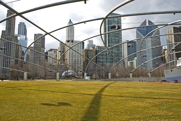 Chicago millennium park états-unis