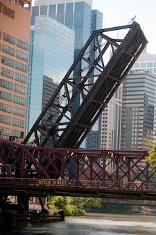 Chicago, pont de la rue kinzie