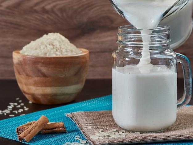 Chicha de arroz con cannelle boisson vénézuélienne typique