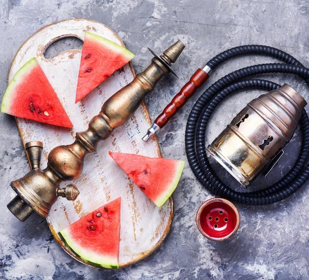 Chicha oriental avec melon d'eau