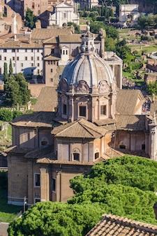 Chiesa dei santi luca e martina à rome, italie