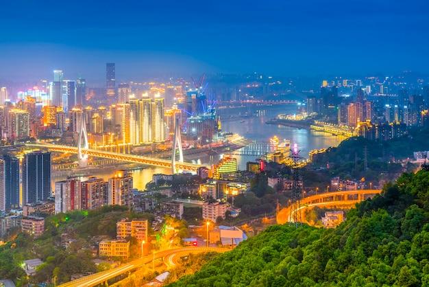 Chine architecture cartes de montagne voyage financier