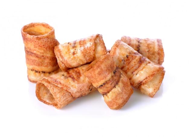 Chips de banane sucrée, collation thaïlandaise