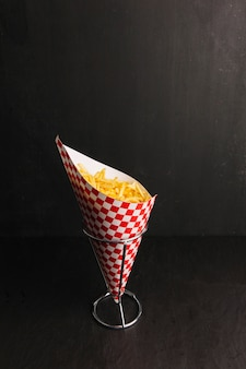 Chips en cône