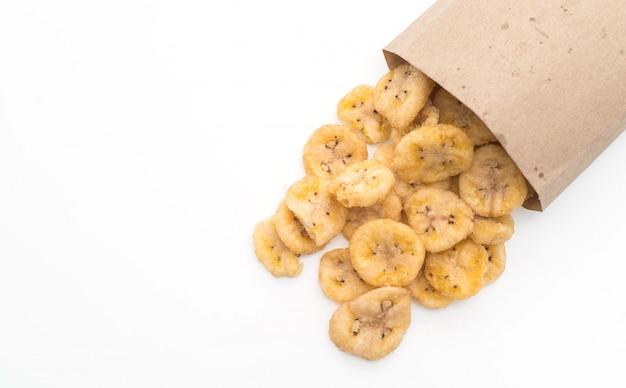 Chips croustillantes à la banane