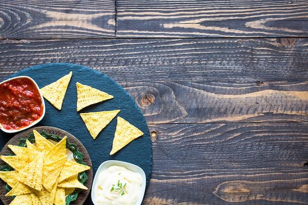 Chips de nachos mexicaines