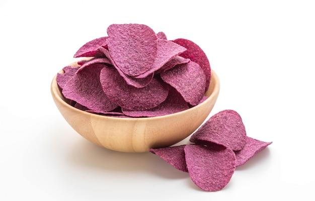 Chips de pommes de terre douces