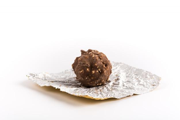 Chocolat et amande douce