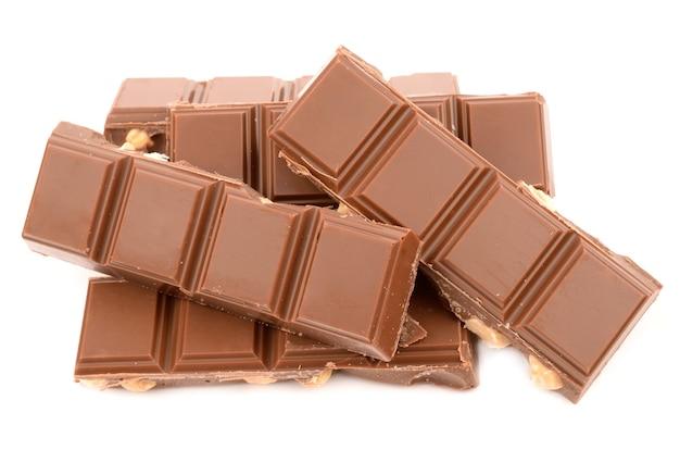 Chocolat au lait aux noisettes