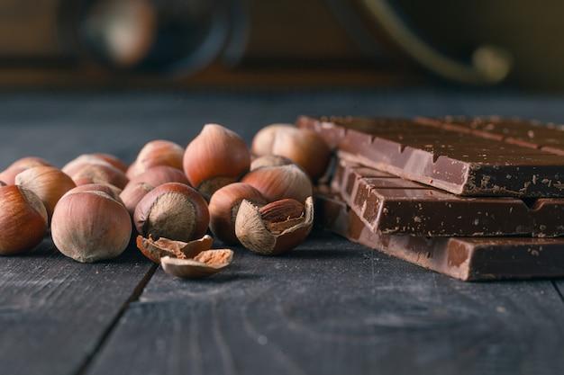 Chocolat aux ingrédients
