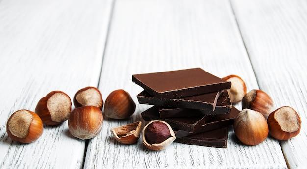 Chocolat aux noix