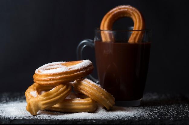 Chocolat chaud et churros