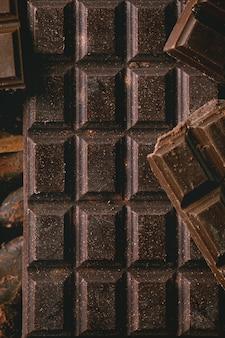 Chocolat noir au cacao