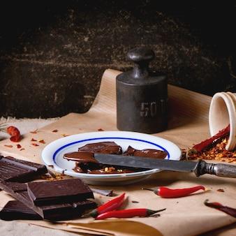 Chocolat et poivre