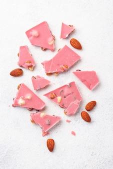Chocolat rose ou rubis, cuisine tendance