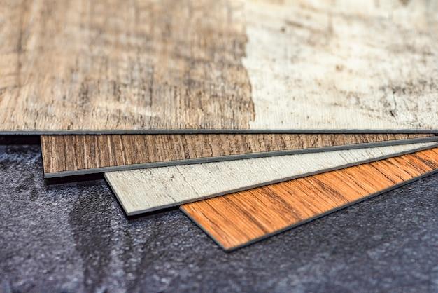 Choix de conception de plancher d'échantillon de vinyle de résine de pvc avec l'espace de copie installation facile de plancher de vinyle chauffant