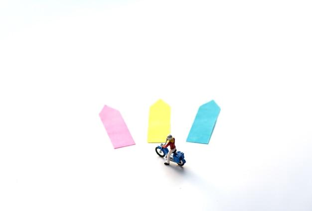 Choix de trois directions de flèche