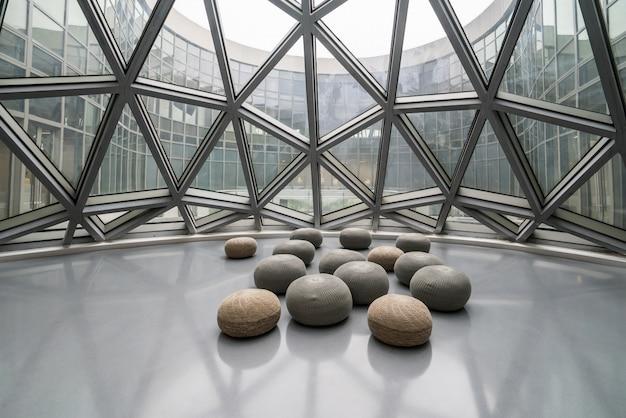 Chongqing, chine - 13 octobre 2019: musée d'art contemporain de chongqing, chine