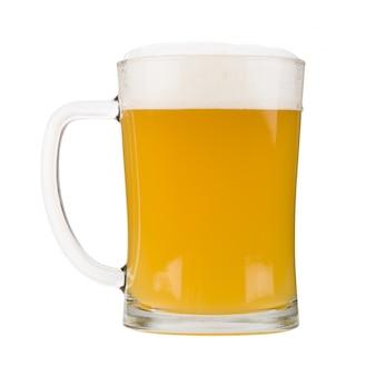 Chope de bière blanche