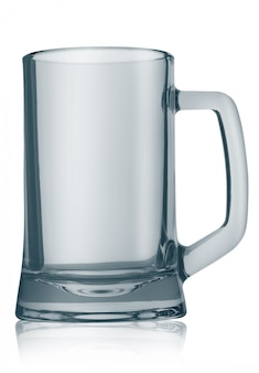 Chope à bière vide