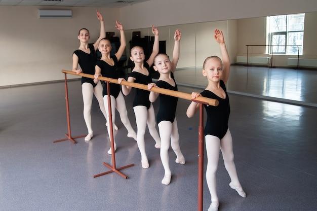 Chorégraphie, enfants, danse, éducation, groupe