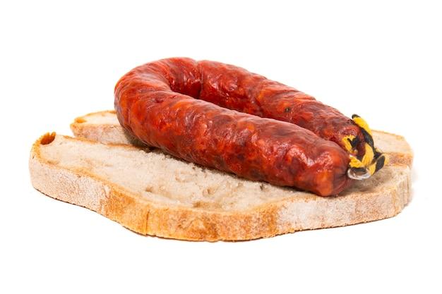 Chorizo et pain traditionnel
