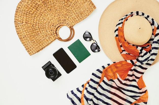Des choses préparées pour les vacances d'été