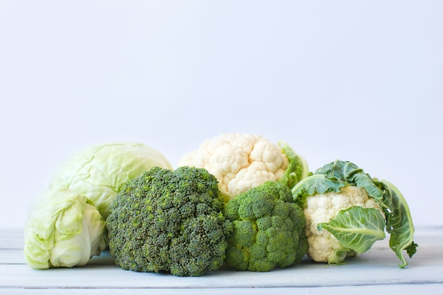 Chou. chou-fleur, chou, brocoli