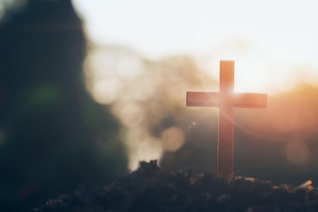 Chrétien, christianisme, fond de religion.