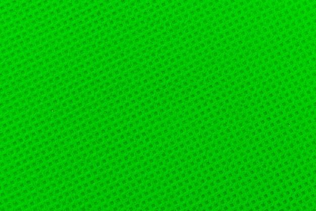 Chromakey vert du tissu