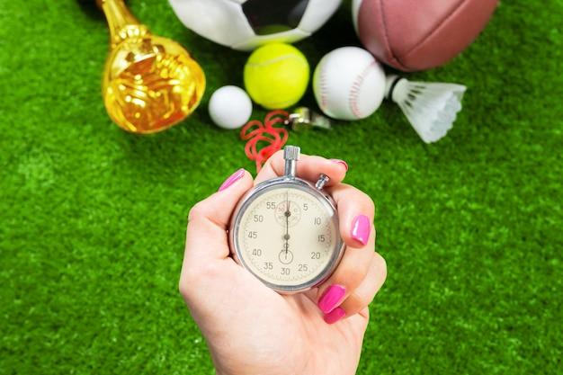 Chronomètre d'argent