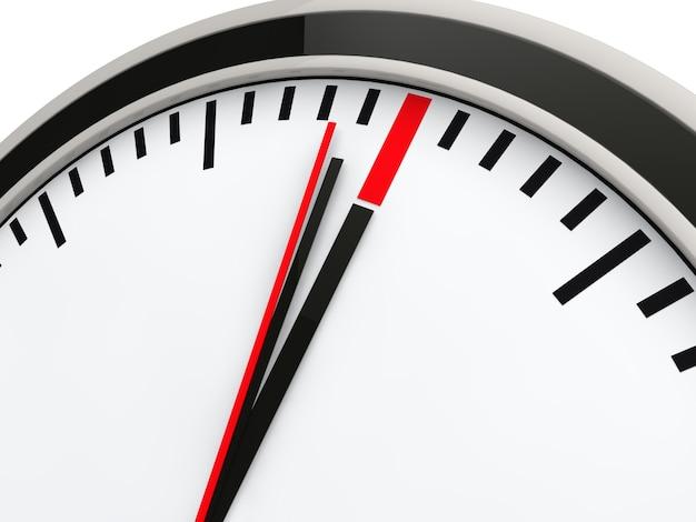 Chronomètre atteint sa limite