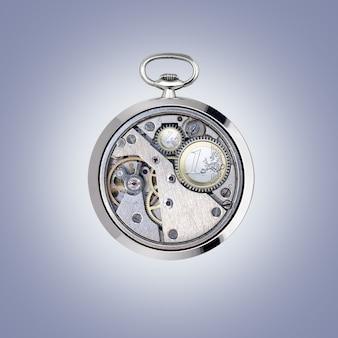 Chronomètre fonctionne avec des pièces