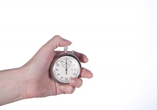 Chronomètre en main