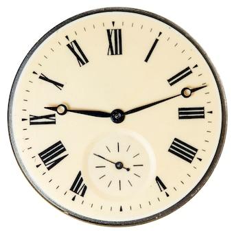 Chronomètre mécanique haute résolution et détail