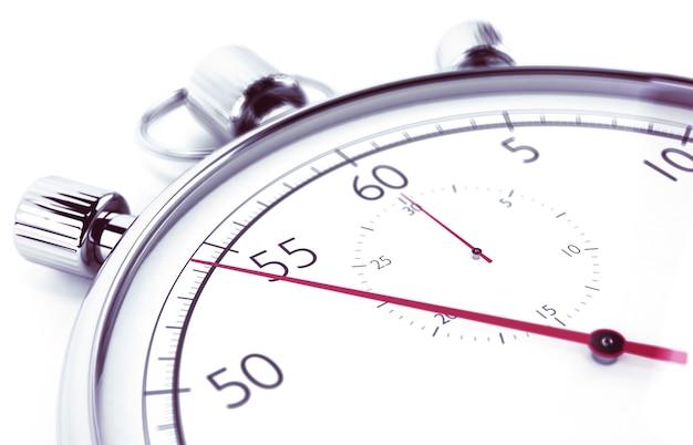 Chronomètre qui mesure le temps