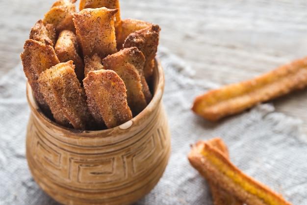 Churros, célèbre dessert espagnol