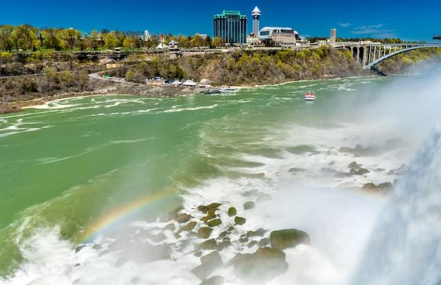 Les chutes américaines à niagara falls