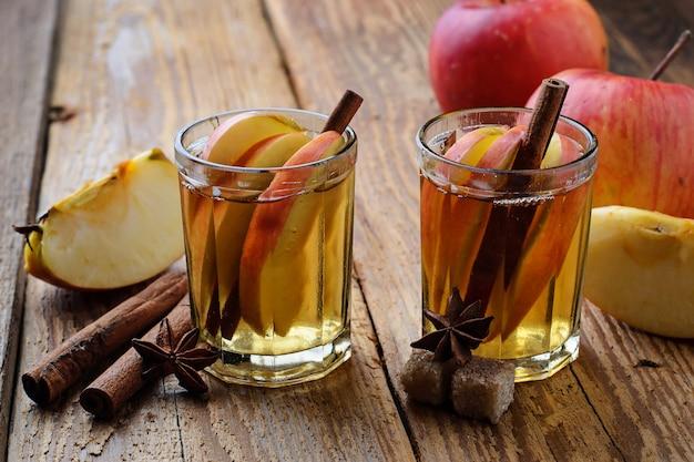 Cidre de pomme à la cannelle
