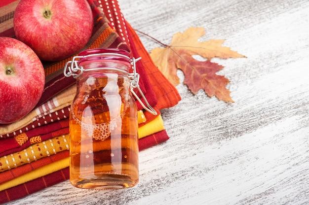 Cidre de pomme fait maison