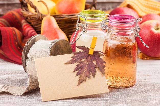 Cidre de pomme et poire maison