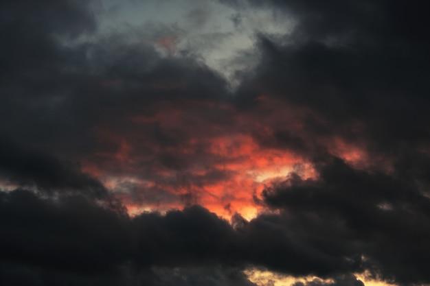Ciel avant l'orage
