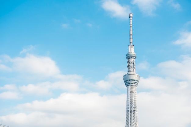 Ciel bleu ciel de tokyo skytree