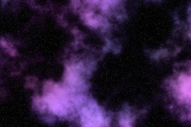 Ciel de l'espace abstrait