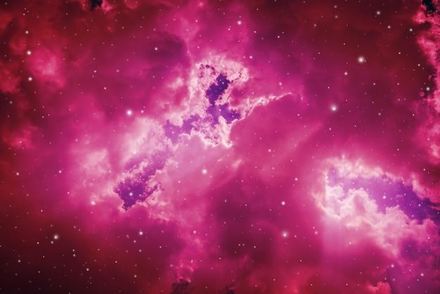 Ciel nocturne avec des étoiles.