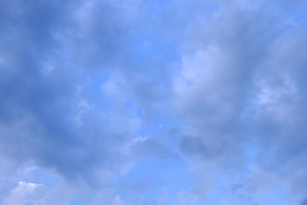 Ciel et nuage, fond abstrait, fond de ciel